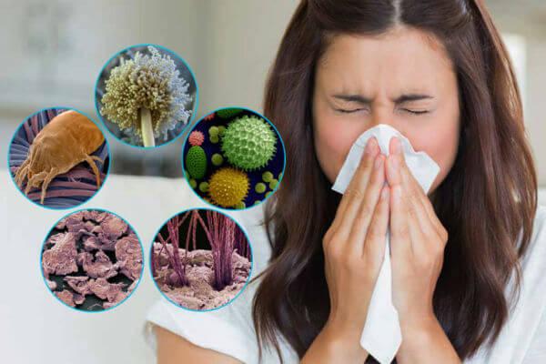 allergiya na pyil